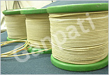 Fiber Glass Covered Round Copper Wires